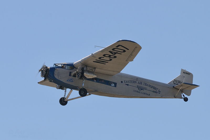 EAA's Ford Trimotor 4-AT-E.