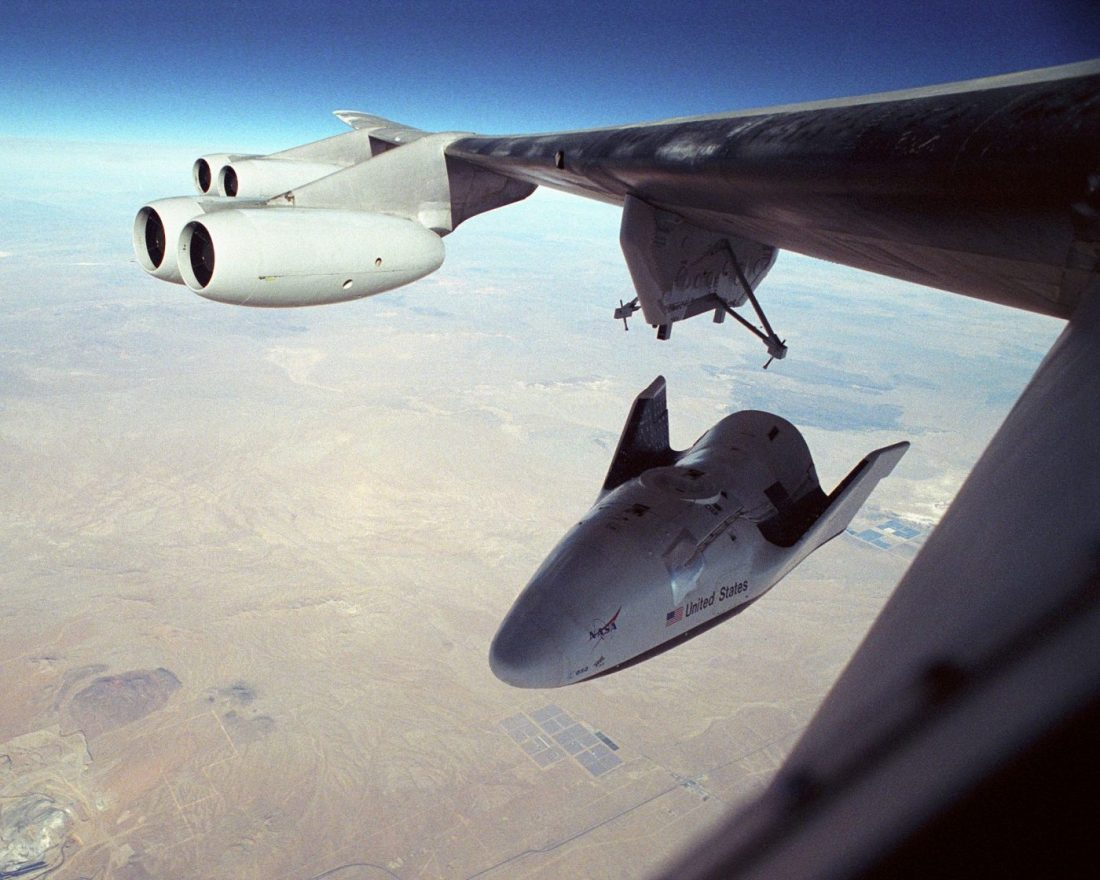 X-38's First Free Flight