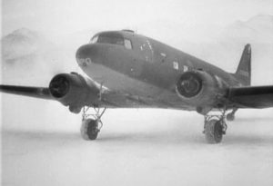 ATC C-47... setting up a field hospital in the Aleutians at the time of the Japanese invasion