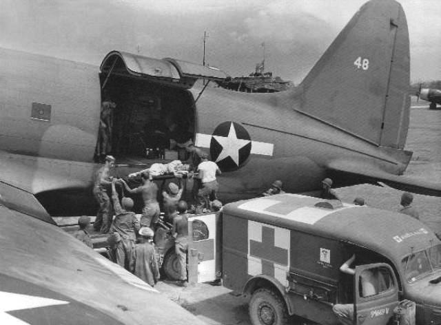 Air Transport Command C-46 medivac
